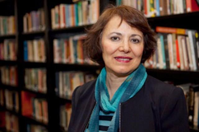 Homa Hoodfar, anthropologue irano-canadienne de l'Université Concordia, est... (PhotoAmanda Ghahremani, fournie à La Presse Canadienne)