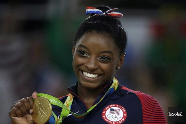 La gymnaste Simone Biles... (Photothèque Le Soleil)
