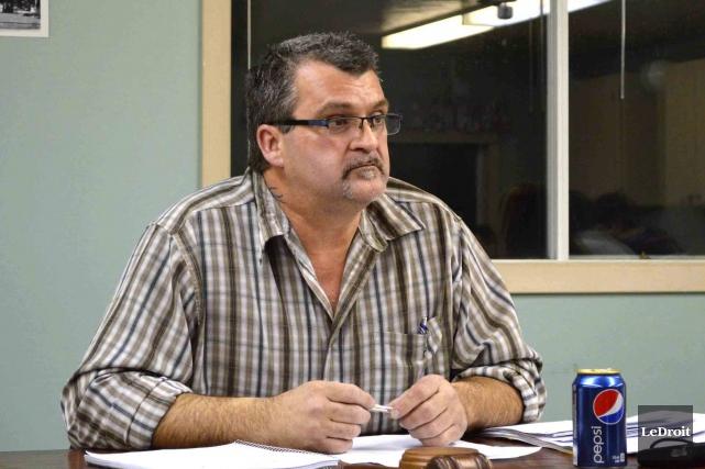 Le maire de Lochaber-Ouest, Jean-Pierre Girard... (Benoit Sabourin, Archives LeDroit)