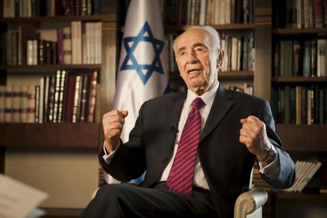 L'ex-président Shimon Peres, ici photographié en 2014,a été... (AP, Dan Bality)
