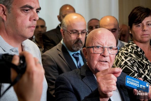 Le porte-parole du Comité provincial de concertation et... (La Presse, Alain Roberge)