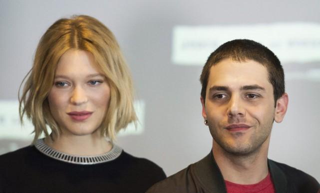 Le réalisateur Xavier Dolan, en compagnie de l'actrice... (Graham Hughes, La Presse canadienne)