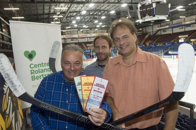 Le Centre Roland-Bertrand organisera un match de hockey... (Stéphane Lessard)