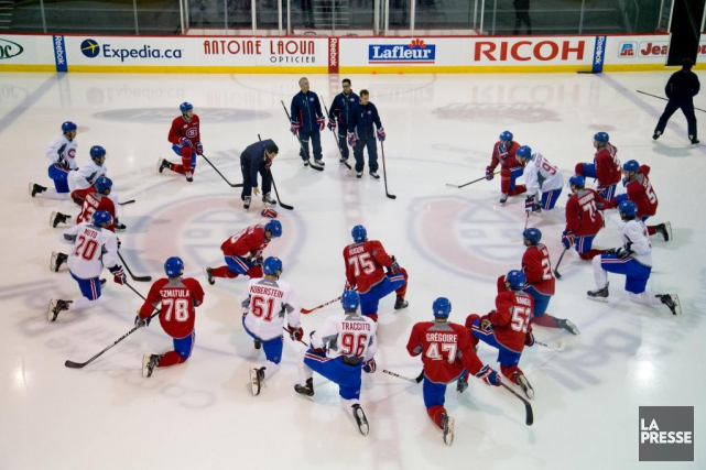 Vingt-sept joueurs participeront au camp des recrues du... (Photo David Boily, Archives La Presse)