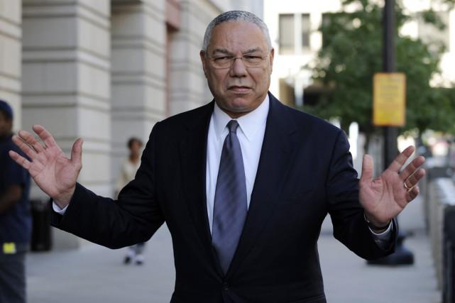 Le républicain Colin Powell a été secrétaire d'État... (photo Susan Walsh, archives AP)