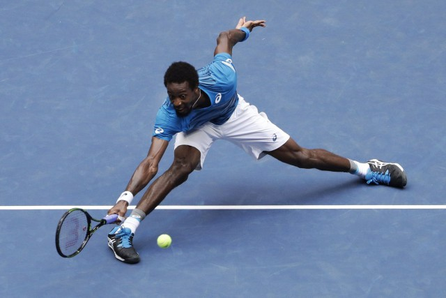 Gaël Monfils... (Photo Seth Wenig, AP)