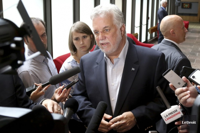 Philippe Couillard... (Photo Patrick Woodbury, archives Le Droit)