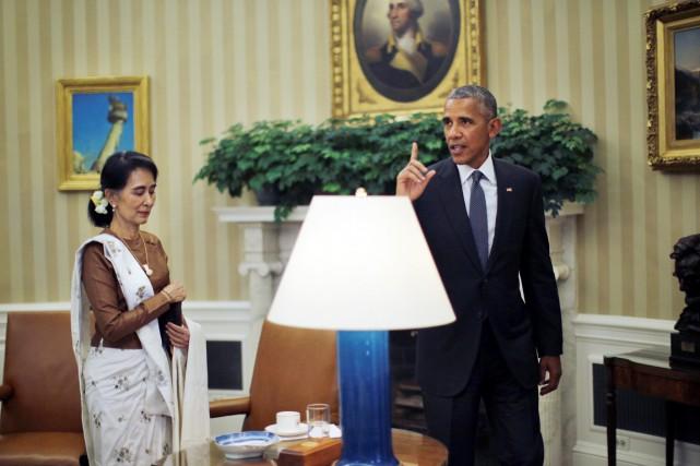 Le président Obama a reçu la conseillère spéciale... (PHOTO REUTERS)