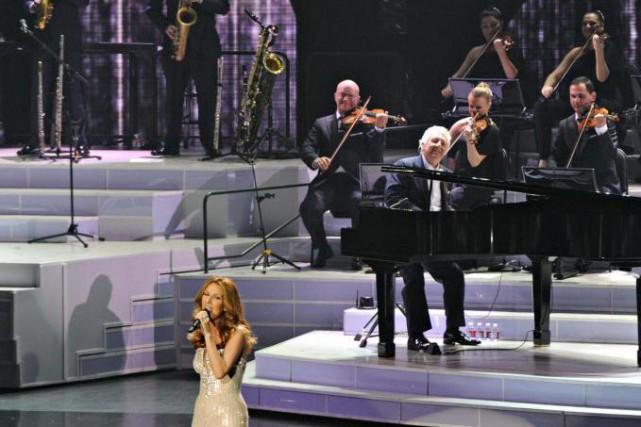 Mégo a agi à titre dedirecteur musical de... (Photo Bernard Brault, archives La Presse)