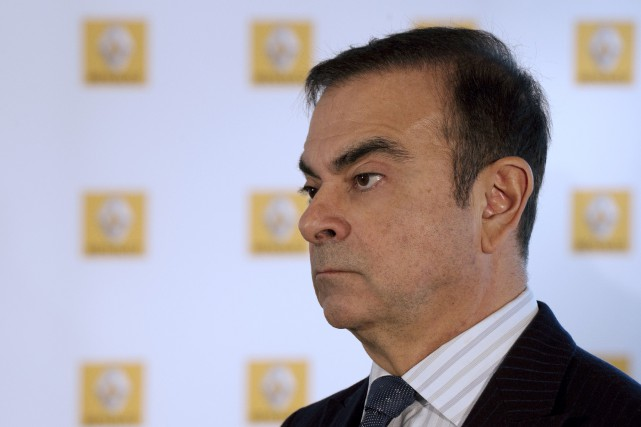 Le salaire du président de l'Alliance Renault-Nissan Carlos... (photo AFP)