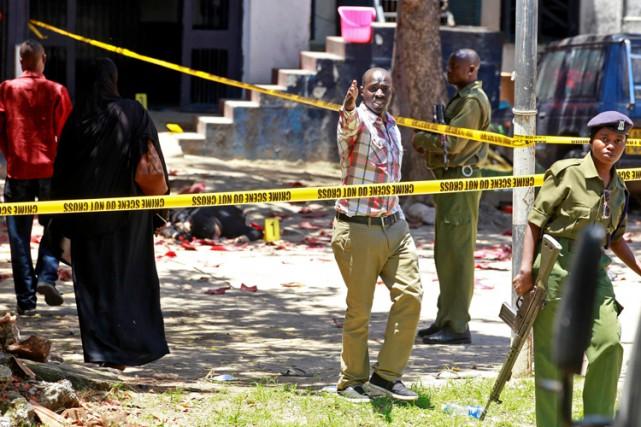 Récemment, les services de sécurité kényans se sont... (PHOTO REUTERS)