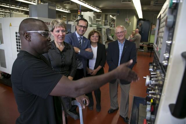 Pusieurs entreprises industrielles sherbrookoises ouvriront leurs portes à... (Spectre Média, René Marquis)