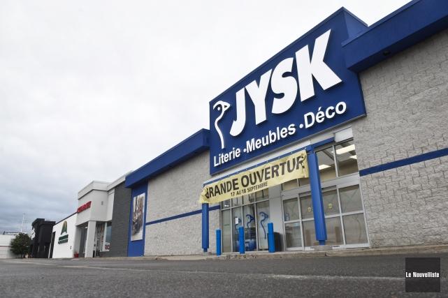Le nouveau magasin de 26 000 pieds carrés,... (François Gervais, Le Nouvelliste)