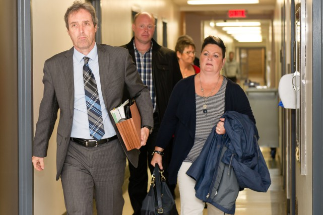 Francis Fillion et Claudia Morin, les parents des... (Spectre Média, Jessica Garneau)