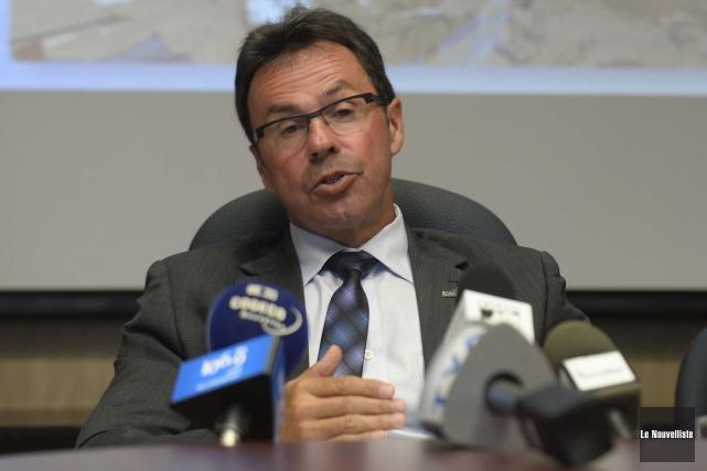 Le maire de Shawinigan, Michel Angers, a repris... (Sylvain Mayer, Le Nouvelliste)