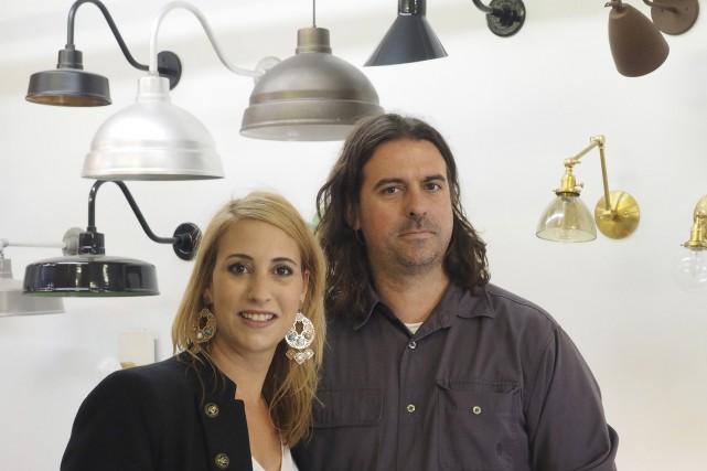 Jani Thibeault et Pierre Gagné ont implanté à... (Alain Dion)