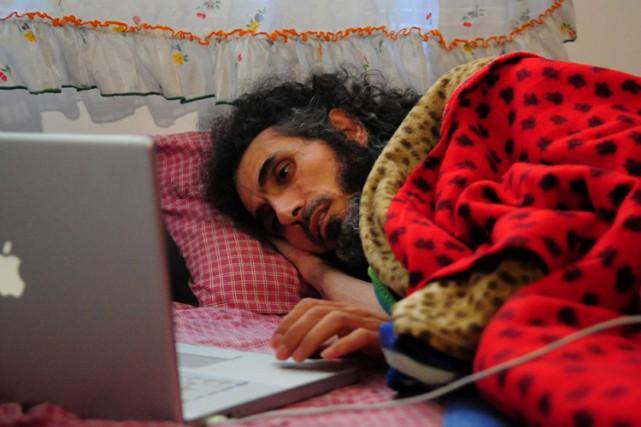 Jihad Diyab,un Syrien de 45 ans, a commencé... (PHOTO AFP)