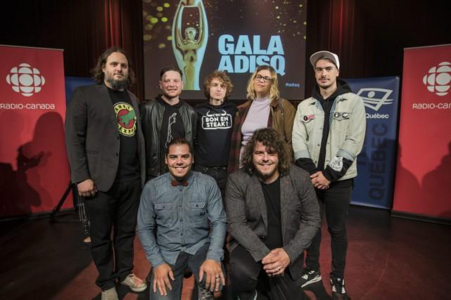 Les principaux finalistes au gala de l'ADISQ, Karl... (Édouard Plante-Fréchette, La Presse)