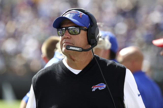 Rex Ryan... (Photo archives AFP, Rob Carr)