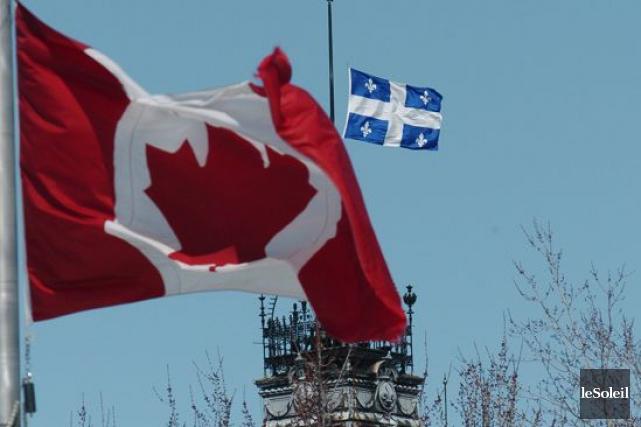 Les Québécois ne sont pas si différents qu'ils le pensent de leurs compatriotes... (Photothèque Le Soleil)