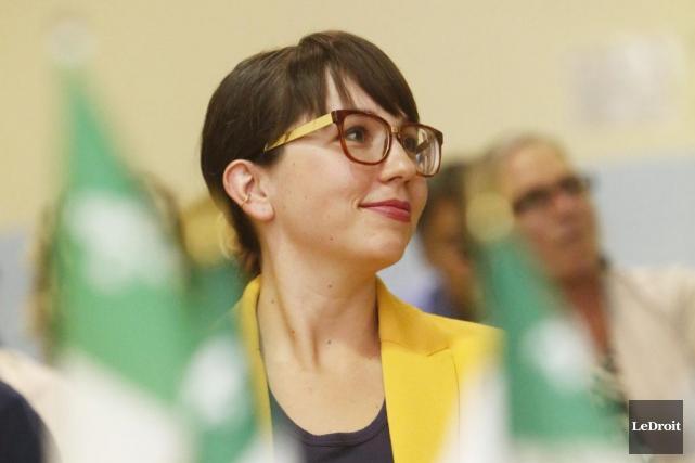 Aja Besler a reçu un mandat de deux... (Simon Séguin-Bertrand, LeDroit)