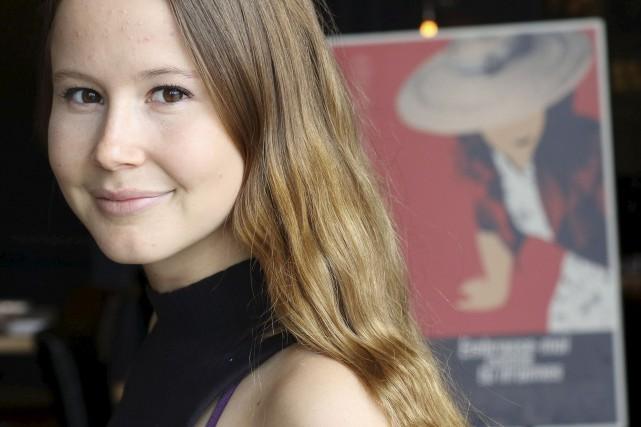 Juliette Gosselin joue Berthe dans «Embrasse-moi comme tu...