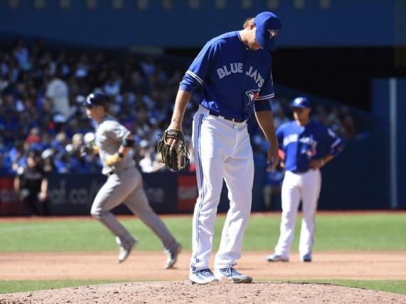Les Blue Jays ont perdu un onzième match... (Frank Gunn, La Presse canadienne)