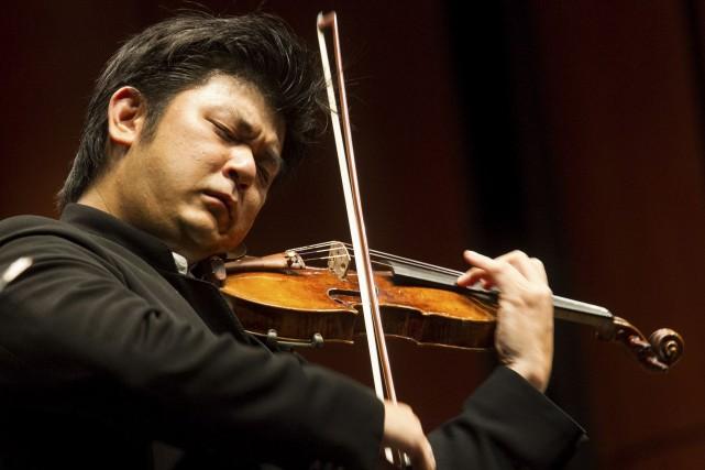 Daishin Kashimoto, premier violon solo de l'Orchestre philharmonique... (Le Soleil, Caroline Grégoire)