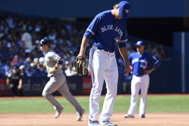 Corey Dickerson a malmené les Blue Jays en... (La Presse Canadienne, Frank Gunn)