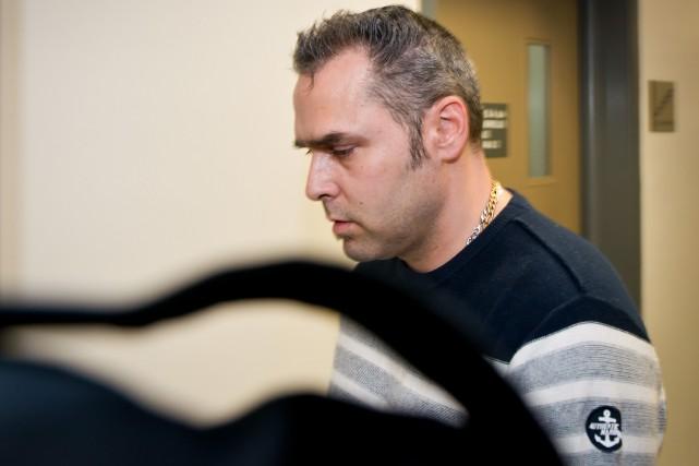 Pascal Morin, jugé non criminellement responsable du meurtre... (Spectre Média, Jessica Garneau)