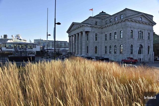 L'édifice de la douane a été conçu par... (Photothèque Le Soleil, Patrice Laroche)