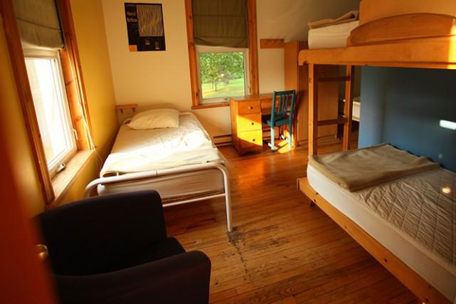 Quelque 37 lits sont proposés à ceux qui... (Photo fournie par Hostelling International)