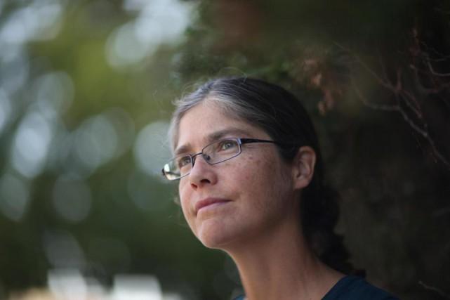L'infirmière Elizabeth Hinton a passé trois mois à... (Photo André Pichette, La Presse)