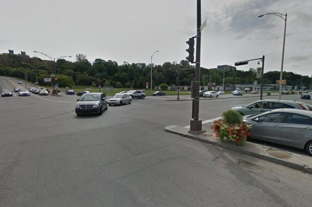 Le ministère des Transports du Québec a procédé... (Google Street View)