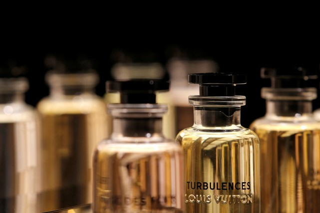 La nouvelle collection de parfums de Louis Vuitton.... (PHOTO REUTERS)
