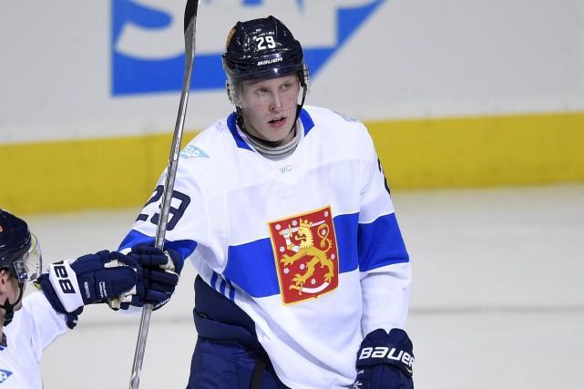 Le Finlandais Patrik Laineest le plus jeune joueur... (Photo Nick Wass, AP)