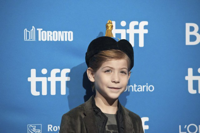 Jacob Tremblay est de passage au Festival international du... (Photo Galit Rodan, La Presse canadienne)