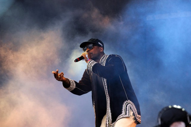 Skepta auGlastonbury Festival, en juin dernier.... (Photo Andy Buchanan, Archives AFP)