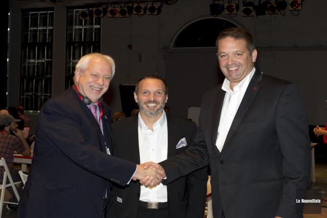 L'ex-premier ministre du Québec Pierre Marc Johnson, le... (Sylvain Mayer, Le Nouvelliste)