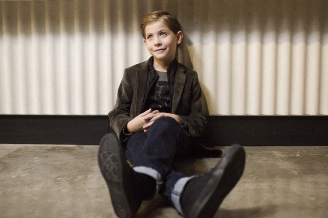 Jacob Tremblay tient dans Burn Your Maps le... (La Presse Canadienne, Michelle Siu)