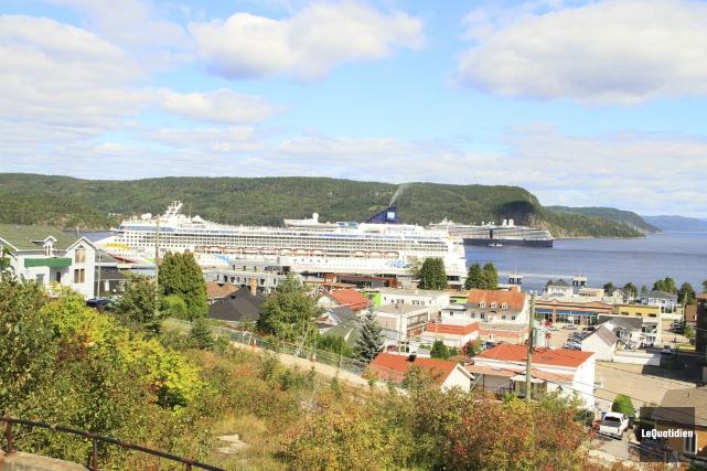 Selon Promotion Saguenay, en construisant les infrastructures portuaires,... (Photo Le Quotidien, Yohann Gasse)