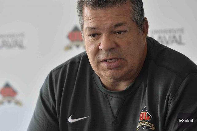 Selon Glen Constantin, entraîneur-chef du Rouge et Or,... (Le Soleil, Patrice Laroche)