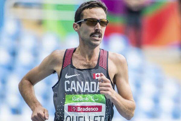 «Je me présentais à l'épreuve en tant que... (Photo fournie, Comité paralympique canadien)
