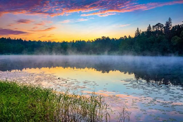 L'avenir de plusieurs lacs de la région paraît... (123RF)