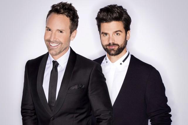 Éric Salvail et Jean- Philippe Wauthier... (Photo fournie par ICI Radio-canada Télé)