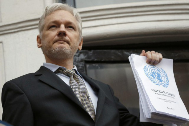 Julian Assange... (PHOTO Frank Augstein, archives AP)
