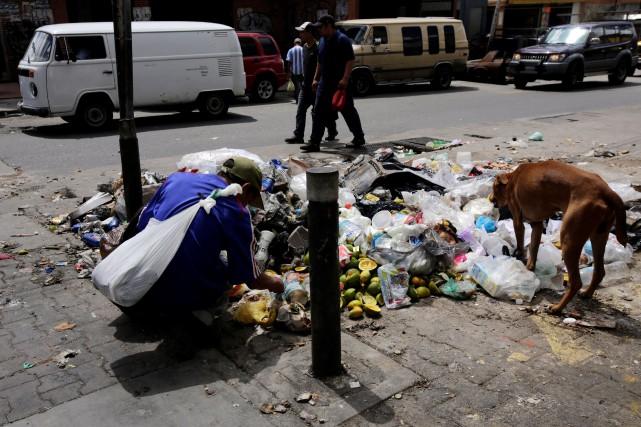 Pour l'opposition, les choses sont claires : il... (PHOTO Henry Romero, REUTERS)