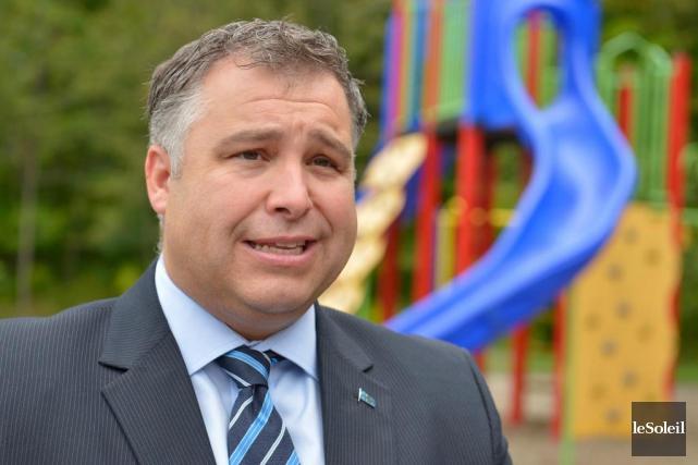 Le ministre de l'Éducation, Sébastien Proulx... (Le Soleil, Yan Doublet)
