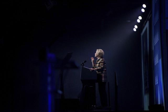 La candidate démocrate, qui a repris sa campagne... (AFP)