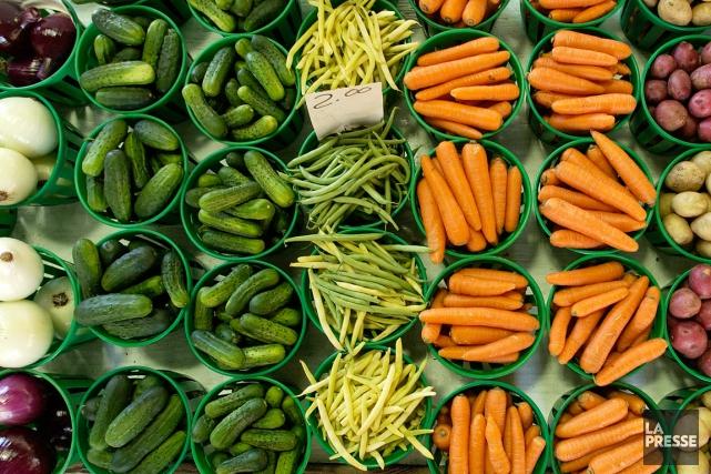 Bonne nouvelle pour les agriculteurs d'ici, les fruits... (Photo Robert Skinner, archives La Presse)